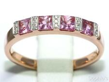 Sapphire Rose Gold 14k Wedding & Anniversary Bands