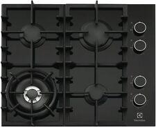 Electrolux 60cm Black Ceramic Glass Gas Cooktop EHG643BA