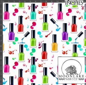 Nail Polish Fashion 100% Quality Cotton Poplin Fabric *Exclusive*