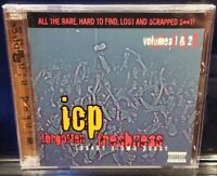 Insane Clown Posse - Forgotten Freshness   vol. 1 & 2 CD 1997 Press ICP twiztid