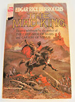 THE MAD KING by EDGAR RICE BURROUGHS - ACE SCIENCE FICTION CLASSIC E-270 -[319]