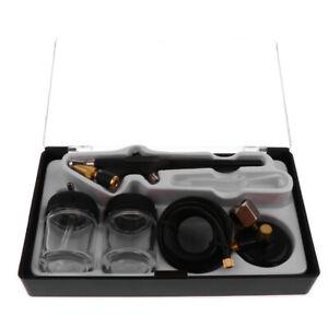 Durable Single Action Airbrush 0.8mm Air Brush Spray Gun Paint Art Cake Kits