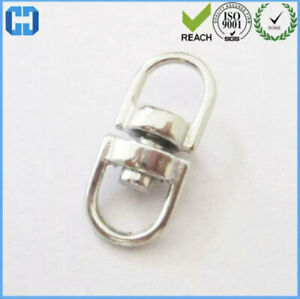 Double Eye Swivel Link Connector Stainless Steel D Ring Connectors Twisting