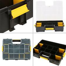 sortmaster 15-compartment small parts organizer   stanley tool tools storage kit