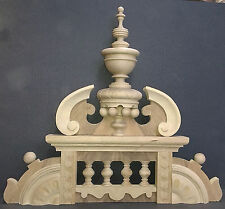 Beautiful crown for antique clock No 42 by Gustav Becker