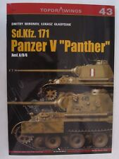 """Kagero Book: Sd.Kfz. 171 Panzer V """"Panther"""" Ausf. A/D/G (Topdrawings)"""