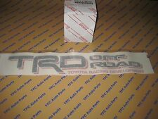 Toyota Tacoma TRD Off-Road Bedside Decal Black-Red Tacoma Tundra 4Runner OEM