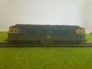 Hornby R2423 Class 35 Hymek Weathered Locomotive in BR Blue