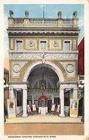 Postcard Broadway Theatre in Springfield, Massachusetts~111940