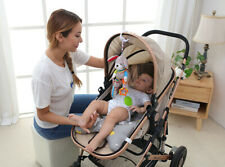 Baby Kinderwagenkette Spielzeug Krippe Rassel Spirale Greiflinge Mode 43*13,5cm