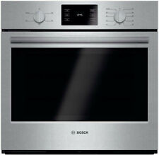 New listing Bosch 500 Series Stainless Steel Single Electric Wall Oven 30-Inch - Open Box