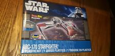 Revell; Star Wars ARC-170 Starfighter, Snap Tite, Model Kit-NEW  FACTORY SEALED
