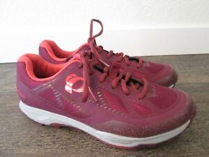 Pearl Izumi X-Alp Canyon Women's Burgundy Cycling Shoes Sz. 38