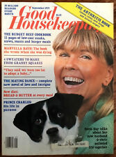 Good Housekeeping vintage fashion magazine September 1979 Doris Day crochet