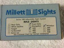 Millett Sight Series 100 Adjustable Sight System
