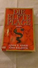 """Roman  """"DIE ELFTE PLAGE"""" v. Marr/Baldwin, Taschenbuch 526 S., ISBN 3-404-14361-2"""