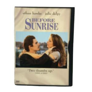 Before Sunrise DVD 1993 Inter-Railing Romcom Classic w/ Ethan Hawke Region 1