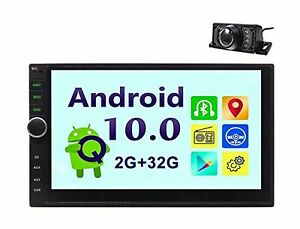 Android 10.0 Car Radio Double Din Car Stereo GPS Navigation Bluetooth Headuni...
