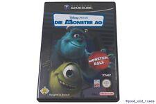 # LES MONSTRES AG: Monster Ball Nintendo GameCube jeu allemand // GC-top #