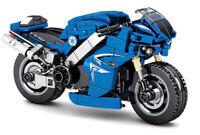 301PCS Motorcycle Racing Bike R1 MOC Building Blocks Bricks Model Toys BN