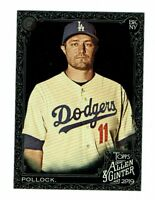 2019 Topps Allen & Ginter X A.J. Pollack #234 Los Angeles Dodgers