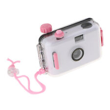 Underwater Waterproof Lomo Camera Mini Cute 35mm Film w/ Housing Case White