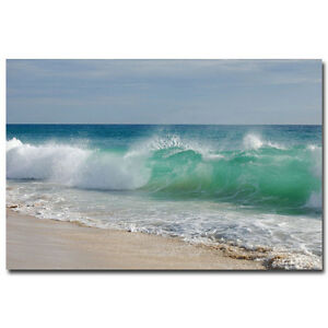 Sea Beach Ocean Art Silk Poster Wall Pictures For Living Room 24x36 inch