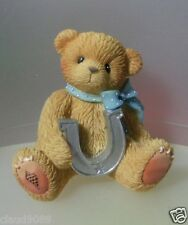 "CHERISHED TEDDIE    ""GOOD LUCK FOR YOU"" 833312E  MINT IN BOX"