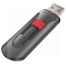 SANDISK CRUZER GLIDE USB FLASH DRIVE 128GB 128G 128 G GB LIFE TIME WARRA MEMORY
