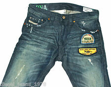 Diesel Thavar 882R Jeans 29X32 100% Auténtico pierna ahusada Skinny Fit