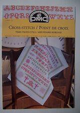 ) DMC grille point de croix cross stitch 12869-22 - ABECEDAIRE HORLOGE