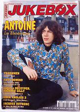 JUKEBOX n°115; Gene Vincent/ Lucky Blondo/ Jimi Hendrix olympia 66/ Gene Clark