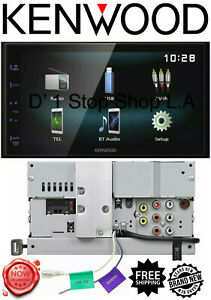 "Kenwood DMX120BT Bluetooth Digital Multimedia Receiver w/ 6.8"" 2DIN Car Stereo"