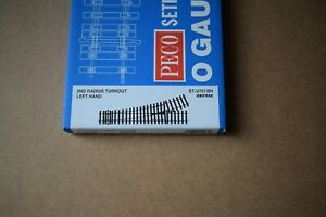 Peco O gauge ST-U751 BH unifrog Left Hand Point
