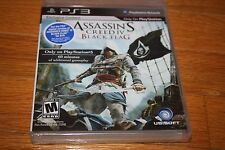 Brand New Factory Sealed PS3 Assassin's Creed IV Black Flag SHIP FREE US FAST