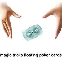 1Set UFO cards floating poker card hummingbird stage street close-up magic tr TE