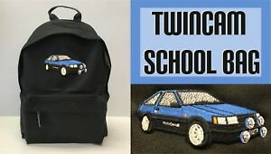 Twincam School Bag Unisex Boys Girls Bag Car Bags Rucksack Shoulder Bag NEW