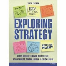 Exploring Strategy (Text Only), plus MyStrategyLab with Pearson eText by Johnso