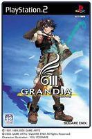 Used PS2 Grandia III   Japan Import (Free Shipping)、