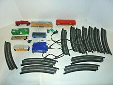 BACHMANN HO SCALE TRAIN SET SOLD AS FOUND TRACK AND TRANFORMER INCLUDED