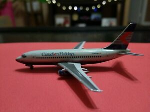 """1:400 Aeroclassics Canadian Airlines 737-200 """"Canadian Holidays"""""""