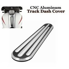 Deep Cut Track Dash Cover Insert Cap For Harley Touring Street Glide 2008-2016