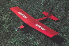 Pocket Rocket 1/2A Aerobatic Sport Plane Plans, Templates and Instructions 28ws