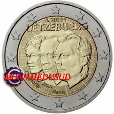 2 Euro Commémorative Luxembourg 2011 - Grand Duc Jean