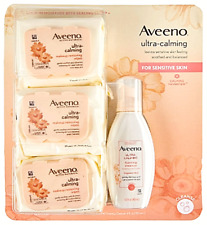 Aveeno Ultra-Calming Foaming Cleanser and Makeup Remover for Dry, Sensitive Skin