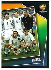 EURO 2004 PANINI - N. 50 SQUADRA RUSSIA FIGURINA STICKER NEW