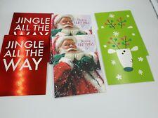 6 x Hallmark christmas cards 3 designs