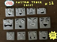 HORNBY/BACHMANN THOMAS AND FRIENDS CUSTOM TROUBLESOME TRUCK FACES X12