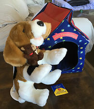 "Build A Bear Beagle Dog With Dog House ""Home Sweet Home"" �"