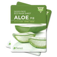 Korean Essence Eco Mask Sheet ALOE Moisture Skin Care Facial Pack 6 PCS